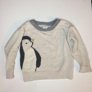 Shirts & Tops - 💖SALE 💖 3/$12 - Penguin Design Knit Sweater